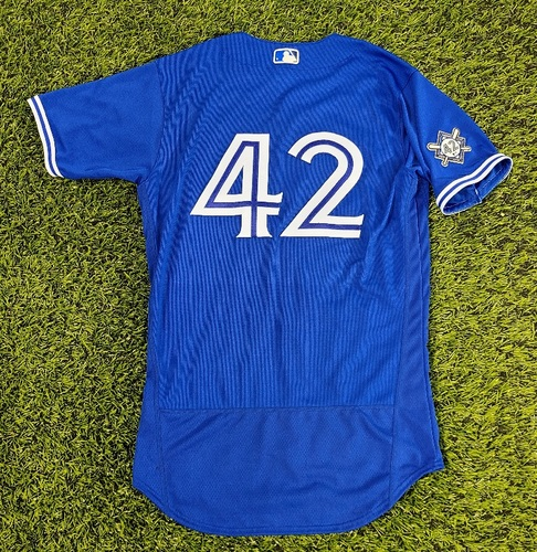 Photo of CHARITY AUCTION: Authenticated Team Issued #42 Jersey: Ken Giles (2020 Season). Size 42.