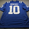 Colts - Donte Moncrief Signed Replica Jersey Size XL with Stain