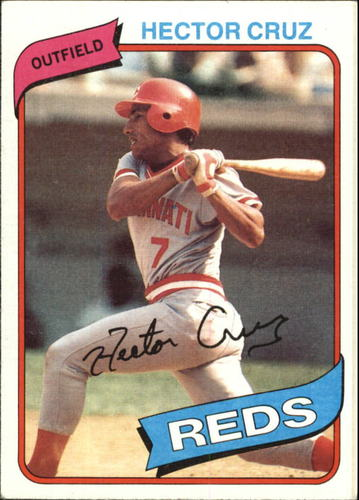 Photo of 1980 Topps #516 Hector Cruz
