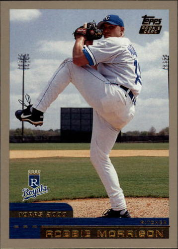 Photo of 2000 Topps Traded #T5 Robbie Morrison RC