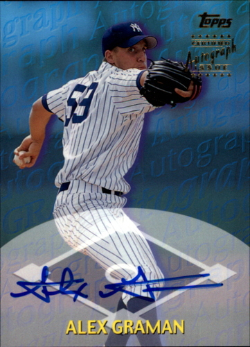 Photo of 2000 Topps Traded Autographs #TTA73 Alex Graman