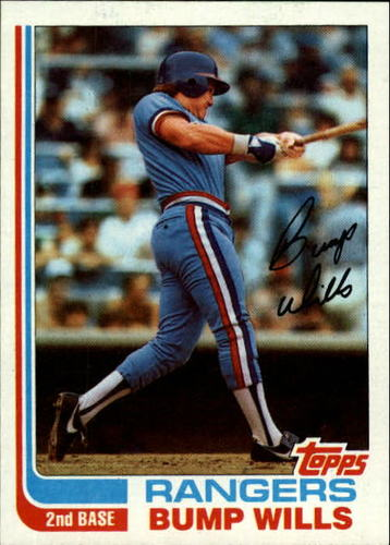 Photo of 1982 Topps #272 Bump Wills