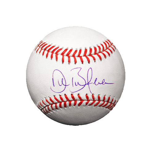 Photo of Drew Butera Autographed Baseball