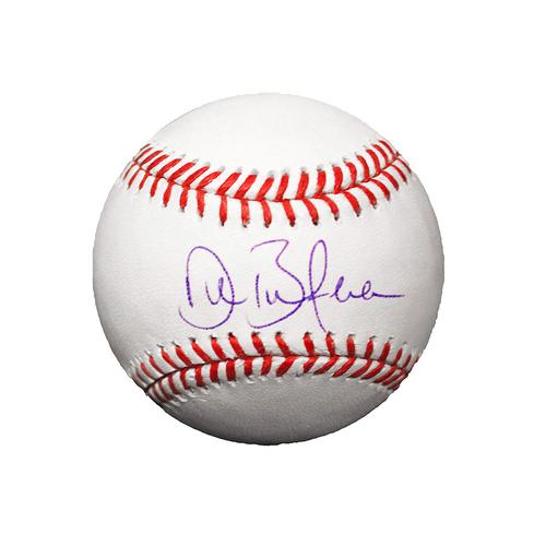 Drew Butera Autographed Baseball