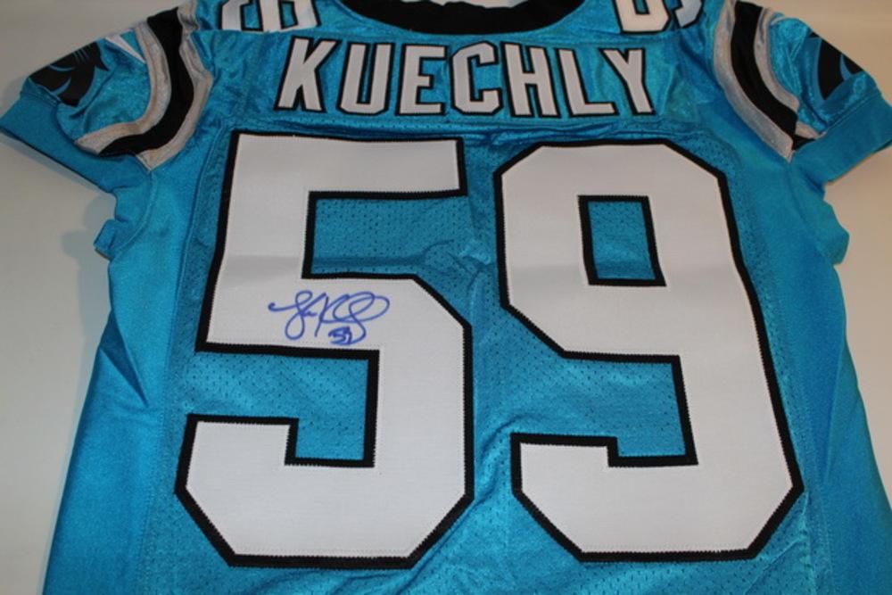 promo code 0e1de 221f2 NFL Auction | PANTHERS - LUKE KUECHLY SIGNED AUTHENTIC ...