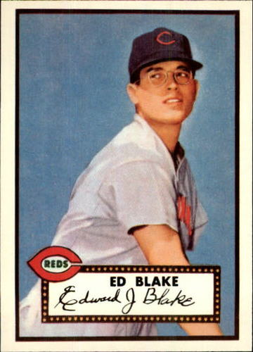 Photo of 1983 Topps 1952 Reprint #144 Ed Blake