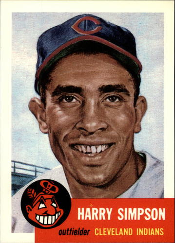 Photo of 1991 Topps Archives 1953 #150 Harry Simpson