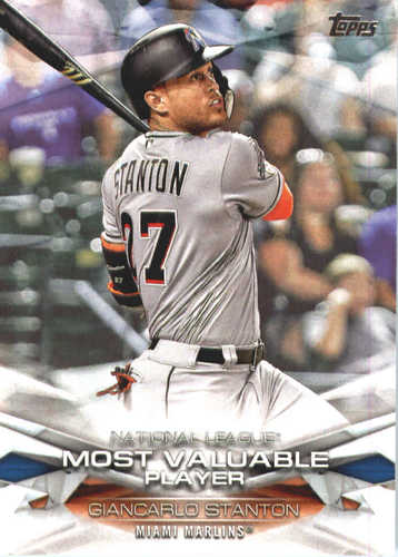 Photo of 2018 Topps MLB Awards #MLBA13 Giancarlo Stanton