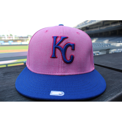 Photo of Game-Used Mother's Day Cap: Brad Keller (Size 7 1/8 - KC at CLE - 5/13/18)
