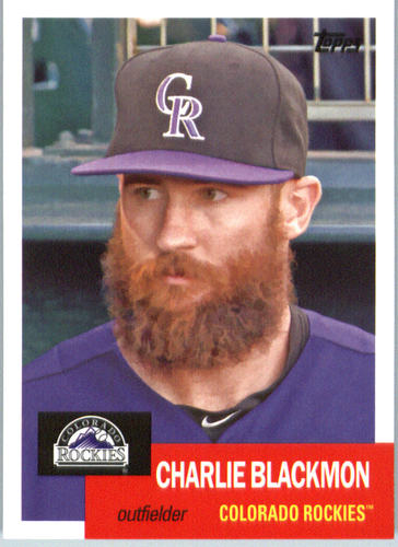 Photo of 2016 Topps Archives #57 Charlie Blackmon