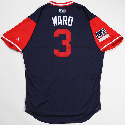 "Photo of Taylor ""Ward"" Ward Los Angeles Angels Game-Used 2018 Players' Weekend Jersey"