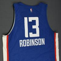 Jerome Robinson - Los Angeles Clippers - 2018 NBA Summer League - Game-Worn Jersey