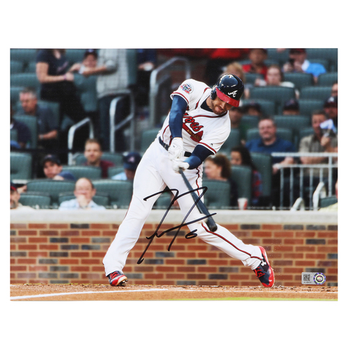 Photo of Compton Youth Academy Auction: Freddie Freeman Autographed Photo and Baseball (Baseball is NOT MLB Authenticated)