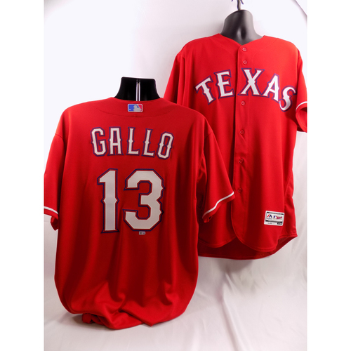 Photo of Joey Gallo Red Team-Issued Jersey