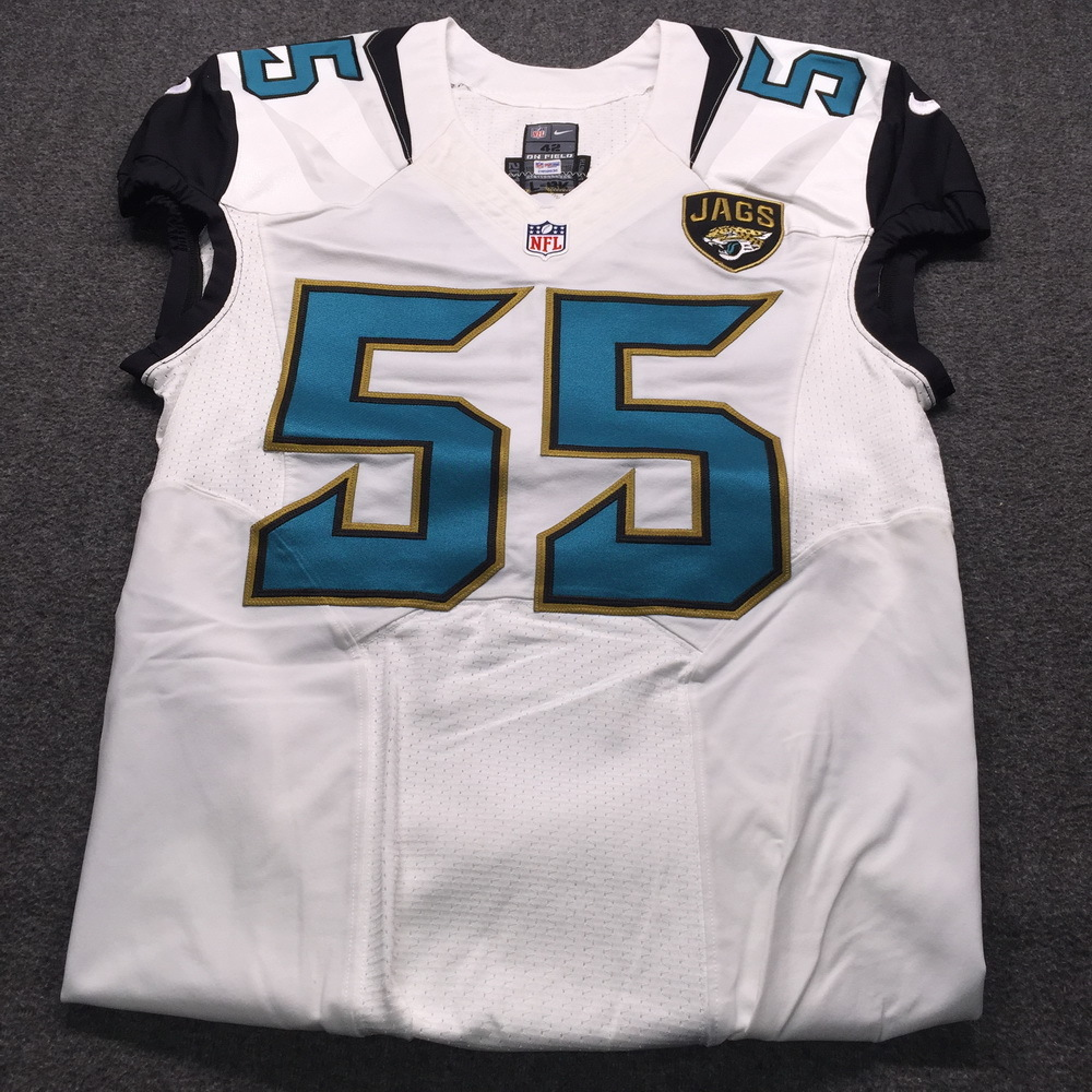 Jaguars - Dan Skuta Game Issued Jersey Size 42