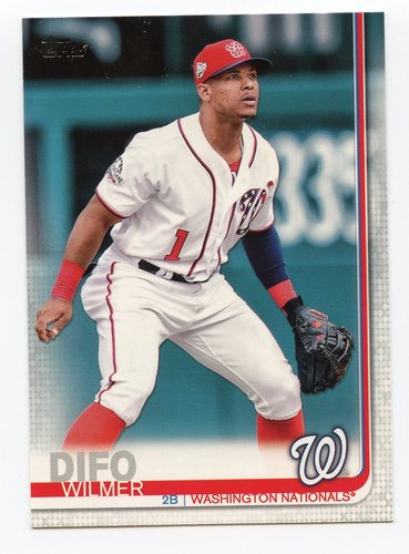 Photo of 2019 Topps #342 Wilmer Difo