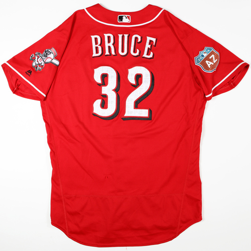 Photo of 2016  Spring Training -  Game-Used Jersey - Jay Bruce (Reds) - Size 48