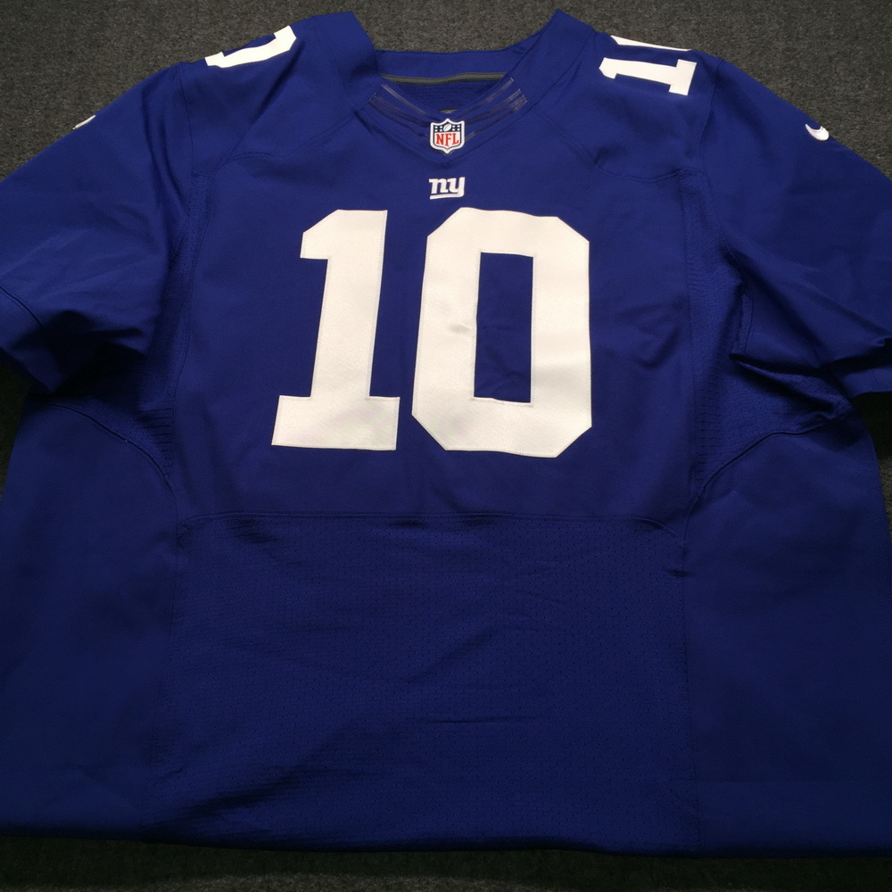 Nfl Auction Sts Giants Eli Manning Signed Game Issued