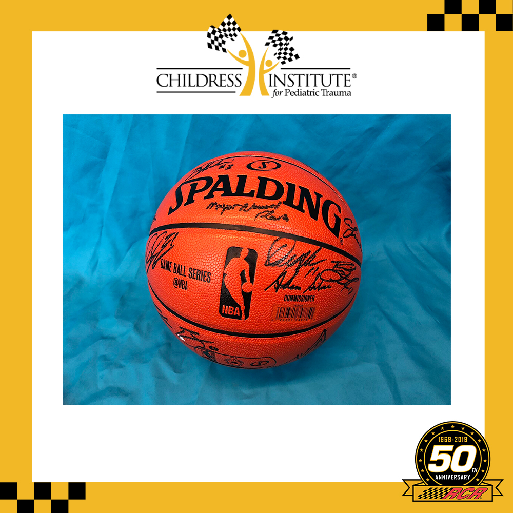 RCR 50th Autographed Dillon Brothers 3-on-3 Basketball
