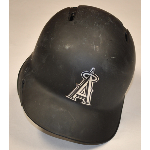 "Photo of Matt ""MATTY"" Thaiss Los Angeles Angels Game-Used 2019 Players' Weekend Helmet"