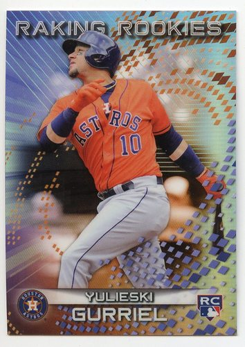 Photo of 2017 Bowman's Best Raking Rookies #RRYG Yulieski Gurriel