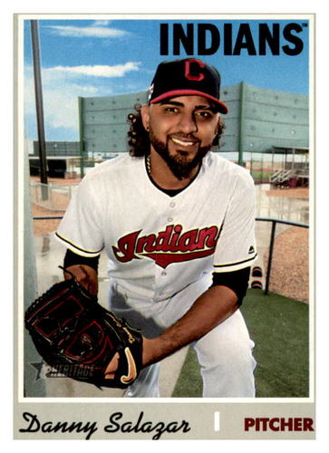 Photo of 2019 Topps Heritage #563 Danny Salazar