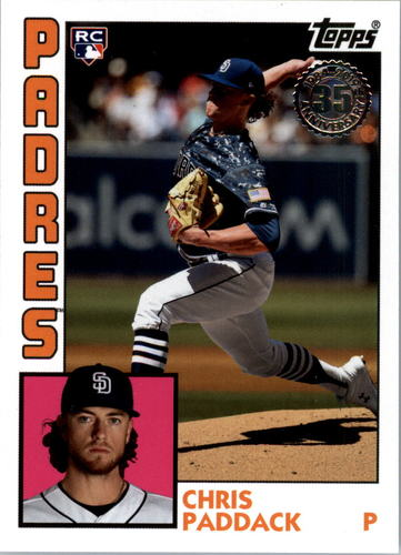 Photo of 2019 Topps Update '84 Topps #8415 Chris Paddack