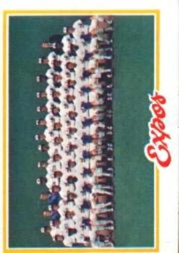 Photo of 1978 Topps #244 Montreal Expos CL DP