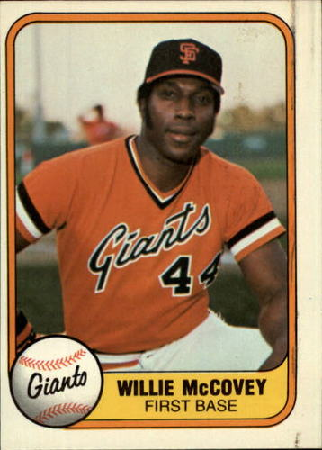 Photo of 1981 Fleer #434 Willie McCovey