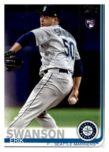 Photo of 2019 Topps Update #US97 Erik Swanson RC