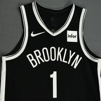Theo Pinson - Brooklyn Nets - NBA China Games - Game-Worn Icon Edition Jersey - 2019-20 NBA Season