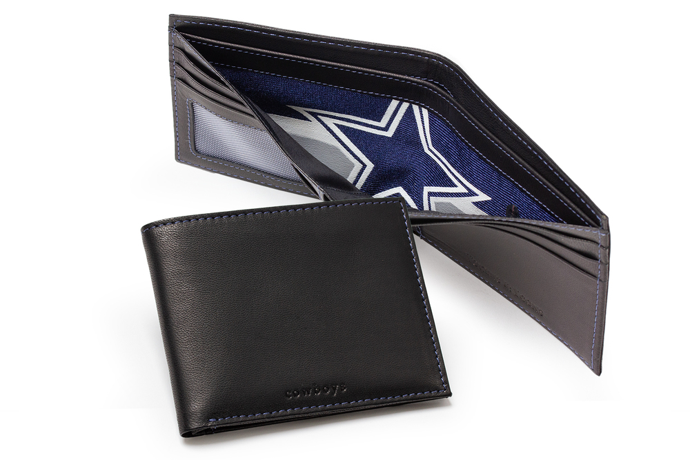 Tokens & Icons Dallas Cowboys Game Used Jersey Wallet