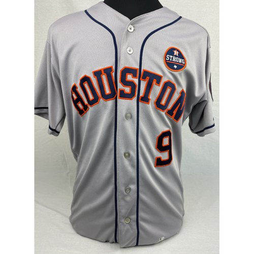 Photo of Marwin Gonzalez Game-Used Jersey - 9/29/2017 at BOS