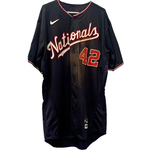 Josh Bell - Jackie Robinson Day Autographed Game Worn Jersey - Size 48