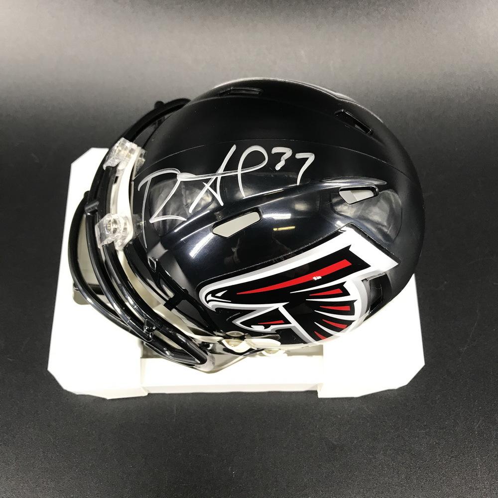 Falcons - Ricardo Allen Signed Mini Helmet