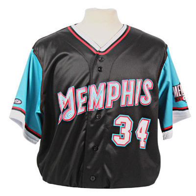 Ben Johnson Autographed Game-Worn 2021 Grizzlies-themed Jersey