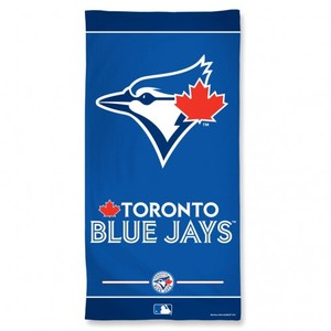 Toronto Blue Jays Two Tone Beach Towel by Wincraft