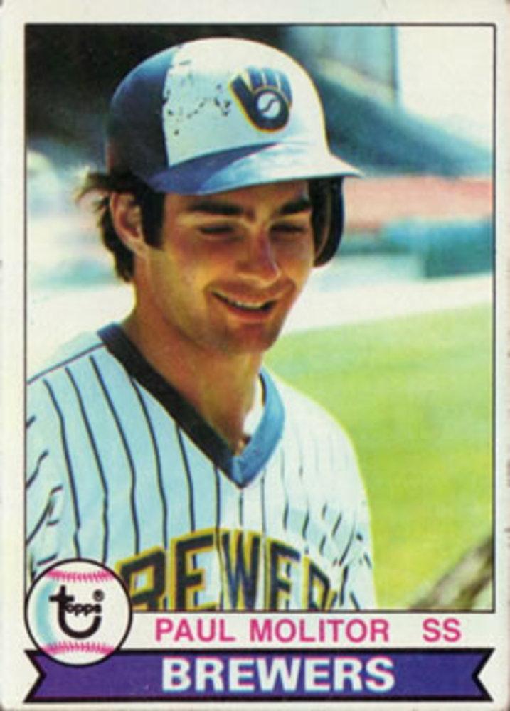 1979 Topps #24 Paul Molitor -- Hall of Famer