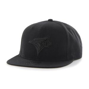 Toronto Blue Jays No Shot Black Snapback Cap by '47 Brand