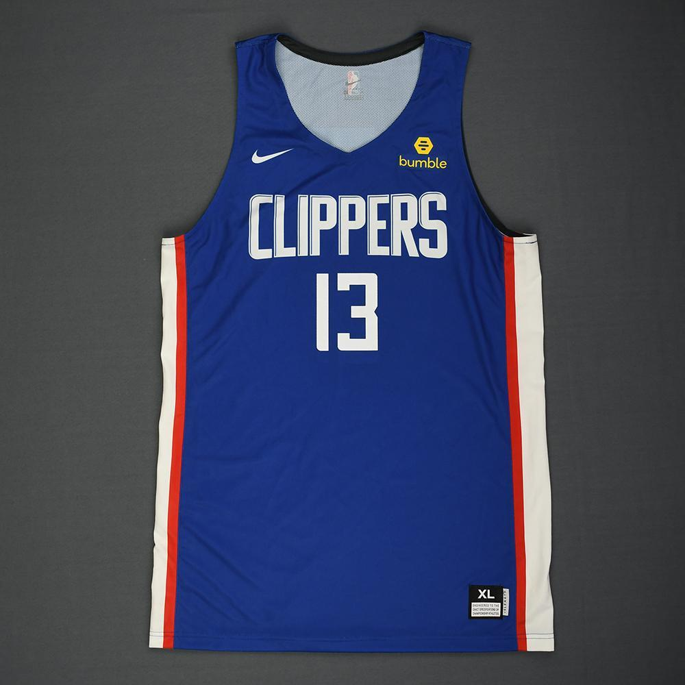 96745d9433a ... sale jerome robinson los angeles clippers 2018 nba summer league game  worn jersey b1c39 f360c