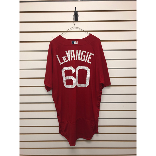 Photo of Dana Levangie Team-Issued 2018 Spring Training Jersey