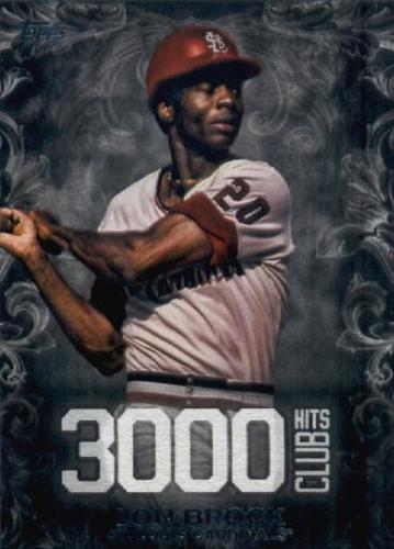 Photo of 2016 Topps Update 3000 Hits Club #3000H17 Lou Brock