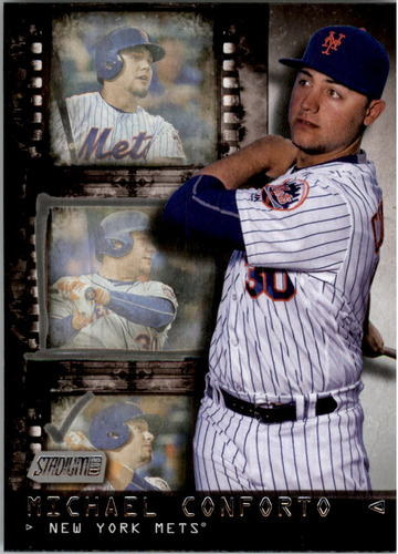Photo of 2016 Stadium Club Contact Sheet #CS5 Michael Conforto