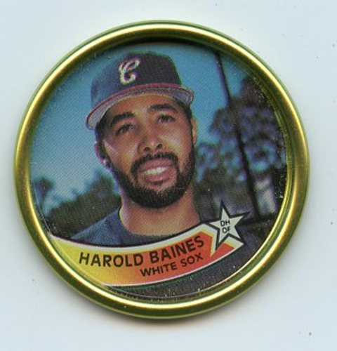 Photo of 1989 Topps Coins #33 Harold Baines