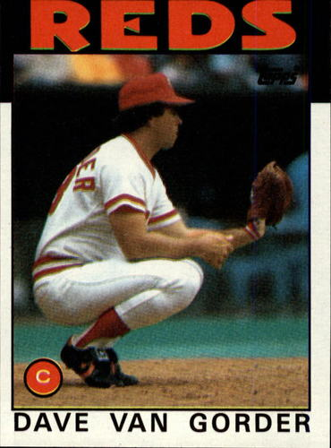 Photo of 1986 Topps #143 Dave Van Gorder