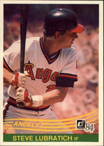 Photo of 1984 Donruss #377 Steve Lubratich