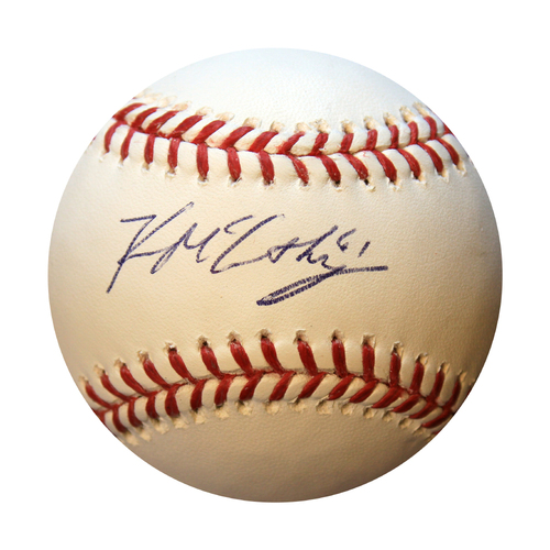Photo of Autographed Baseball: Kevin McCarthy