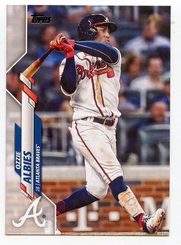 Photo of 2020 Topps #480 Ozzie Albies