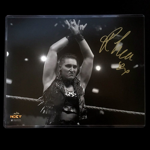 Photo of Rhea Ripley SIGNED Black & White 11x14 Photo (Random Number)