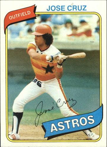 Photo of 1980 Topps #722 Jose Cruz
